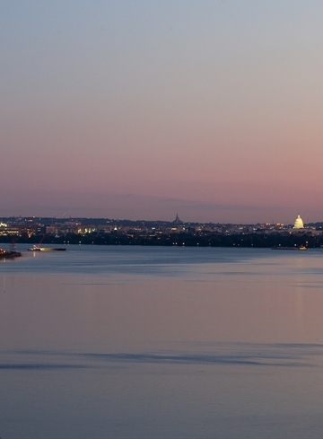 View of the DC Skyline