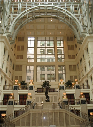 The Homer Building Atrium